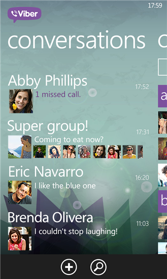 Viber on Nokia Lumia 920