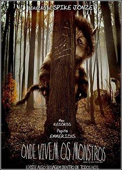 Filme Onde Vivem Os Monstros Dublado AVI DVDRip