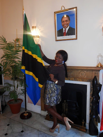 UPDATING MY LOVE OF MY TANZANIAN FLAG 13/08/2013 PROUD''