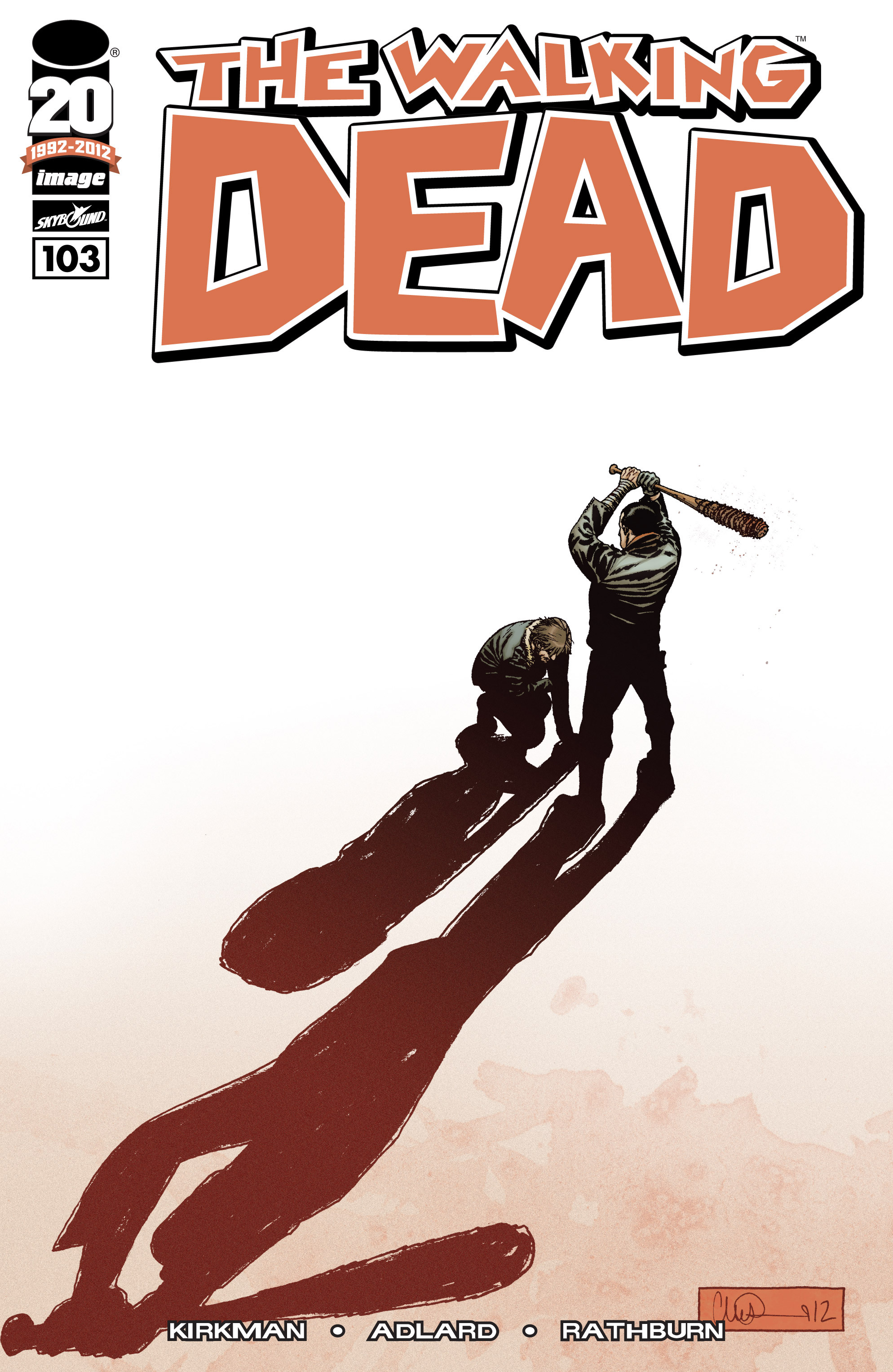 The Walking Dead Issue #103 Page 1