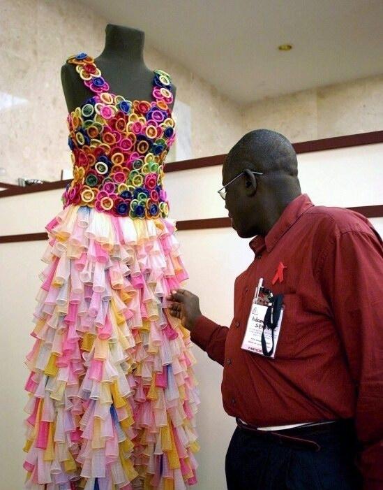 vestido condones