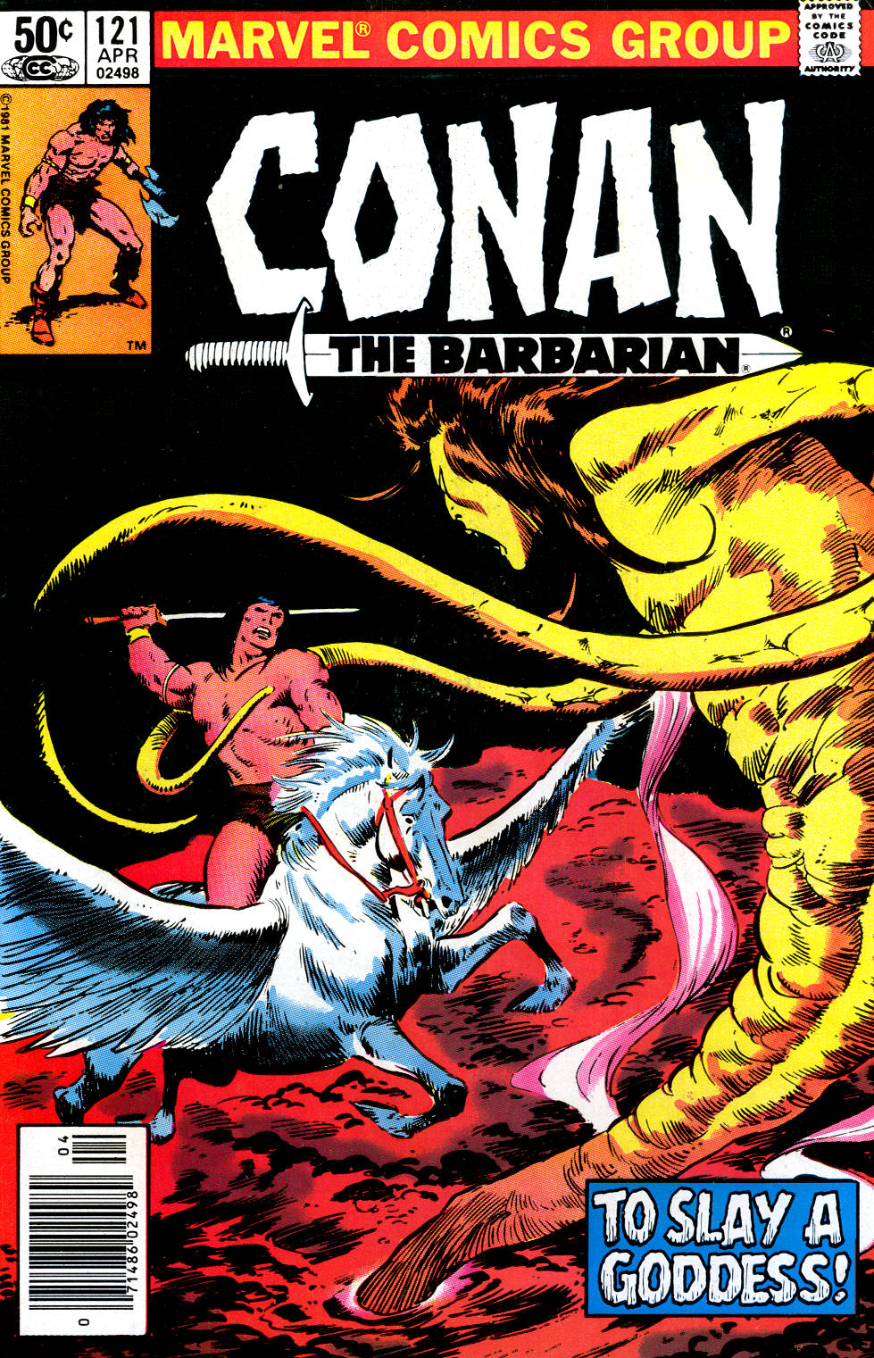 Conan the Barbarian (1970) Issue #121 #133 - English 1