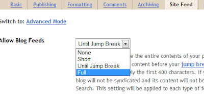 Enable Blogger Threaded Commenting System