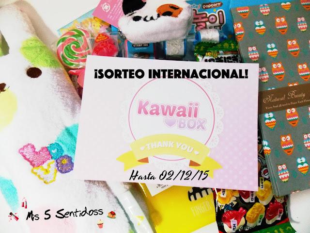 Kawaii Box Octubre + Sorteo Internacional