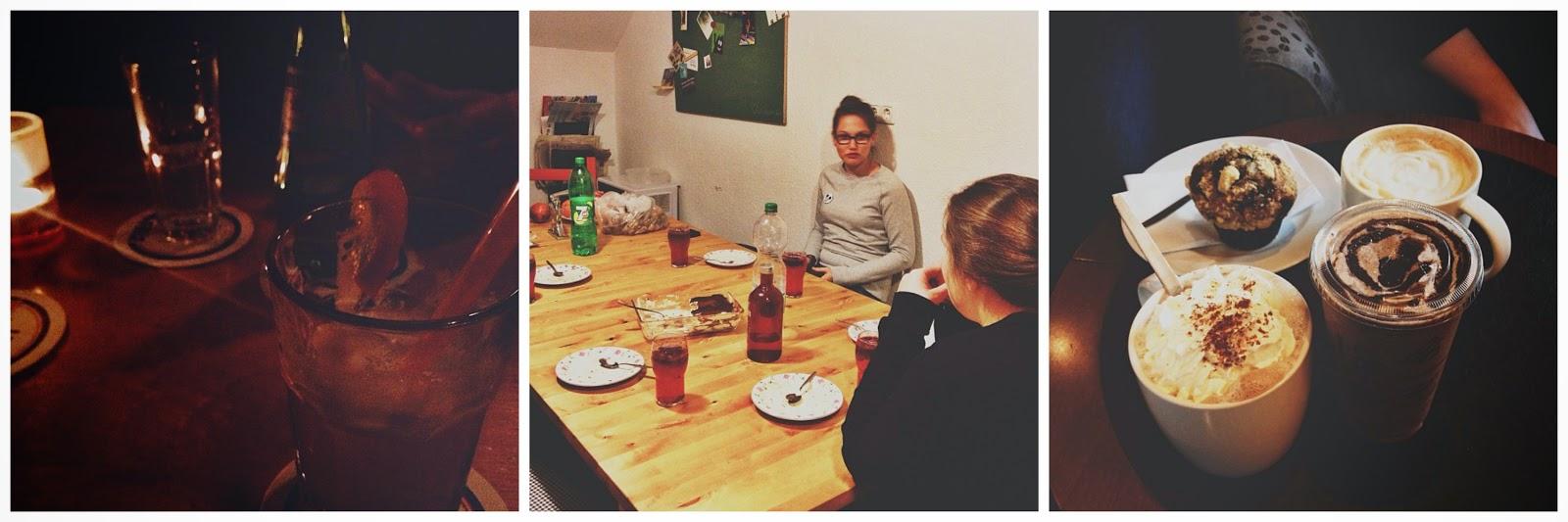 Mädelsabend und Treffen zum Kaffeeklatsch