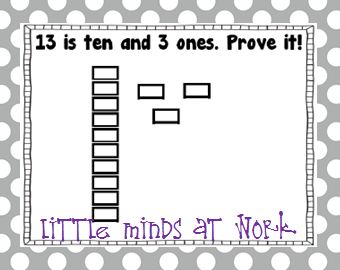 Teen Numbers & Place Value Fun! - Little Minds at Work