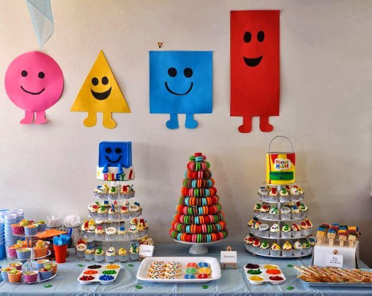 Ideas De Decoracion Para Fiestas Infantiles ~   Maker  Decoraci?n de Fiestas Infantiles  Fiestas y todo Eventos