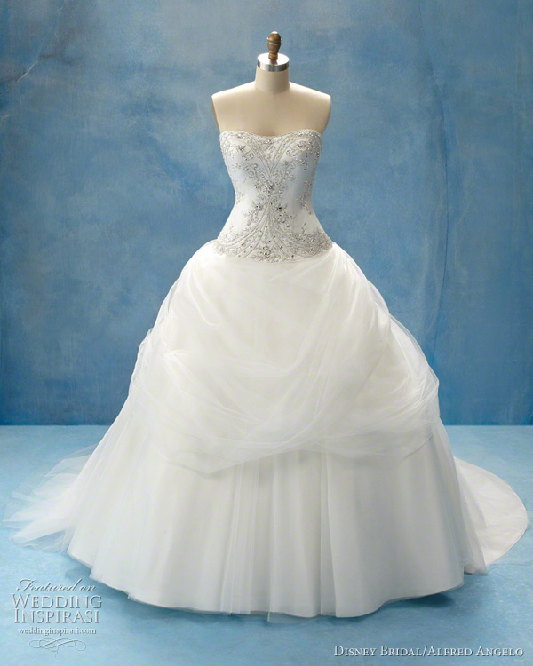 Disney Fairy Tale Princess Wedding Gowns