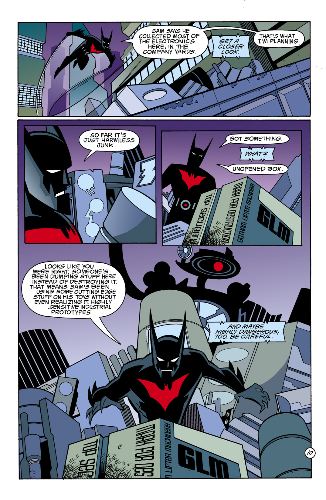 Batman Beyond [II] Issue #10 #10 - English 11