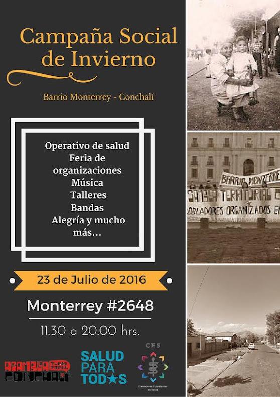 CONCHALI: CAMPAÑA SOCIAL DE INVIERNO