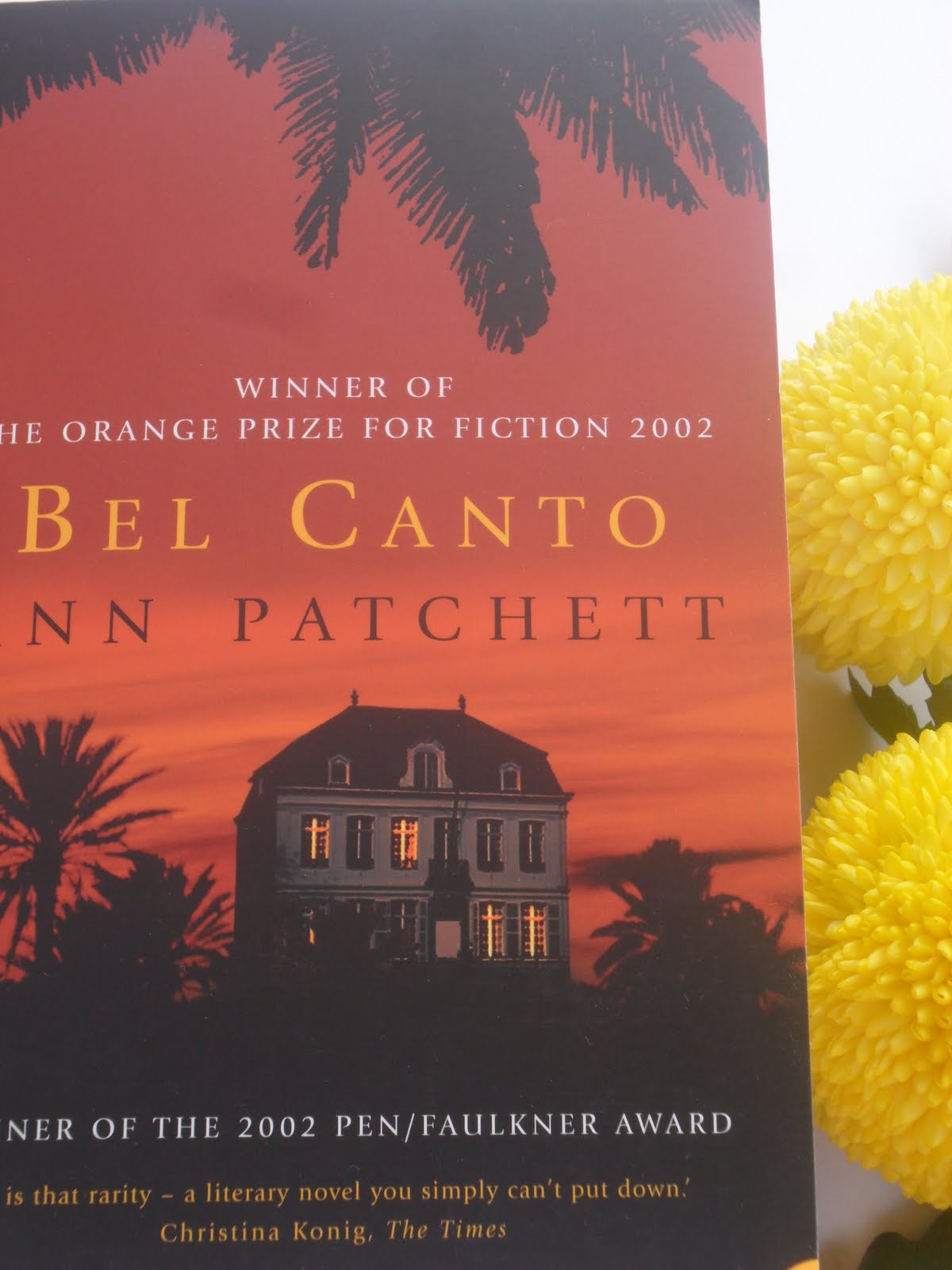 the hostage trauma in the novel bel canto by ann patchett Joyce hackett is the author of disturbance of the inner ear,  bel canto by ann patchett  elegant investigation of trauma and desire.