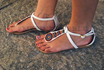sandalias primark etnicas