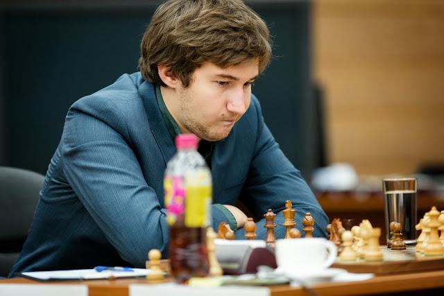 Grand Prix Khanty-Mansiysk. Sergey Karjakin.