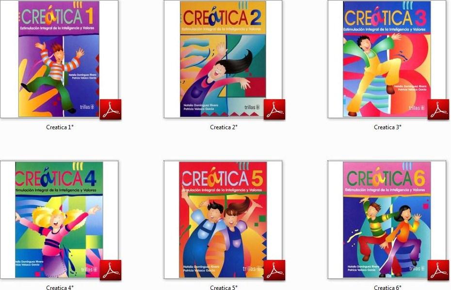 Libros De Trabajo Creatica