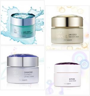 The Saem Gem Miracle creams