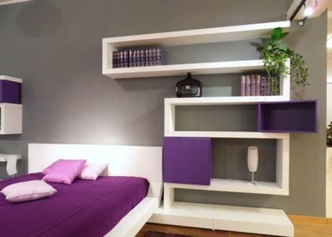 zig zag wall shelves