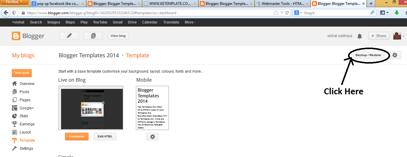 how to install blogger template,install blogspot template,free blogger template,template install