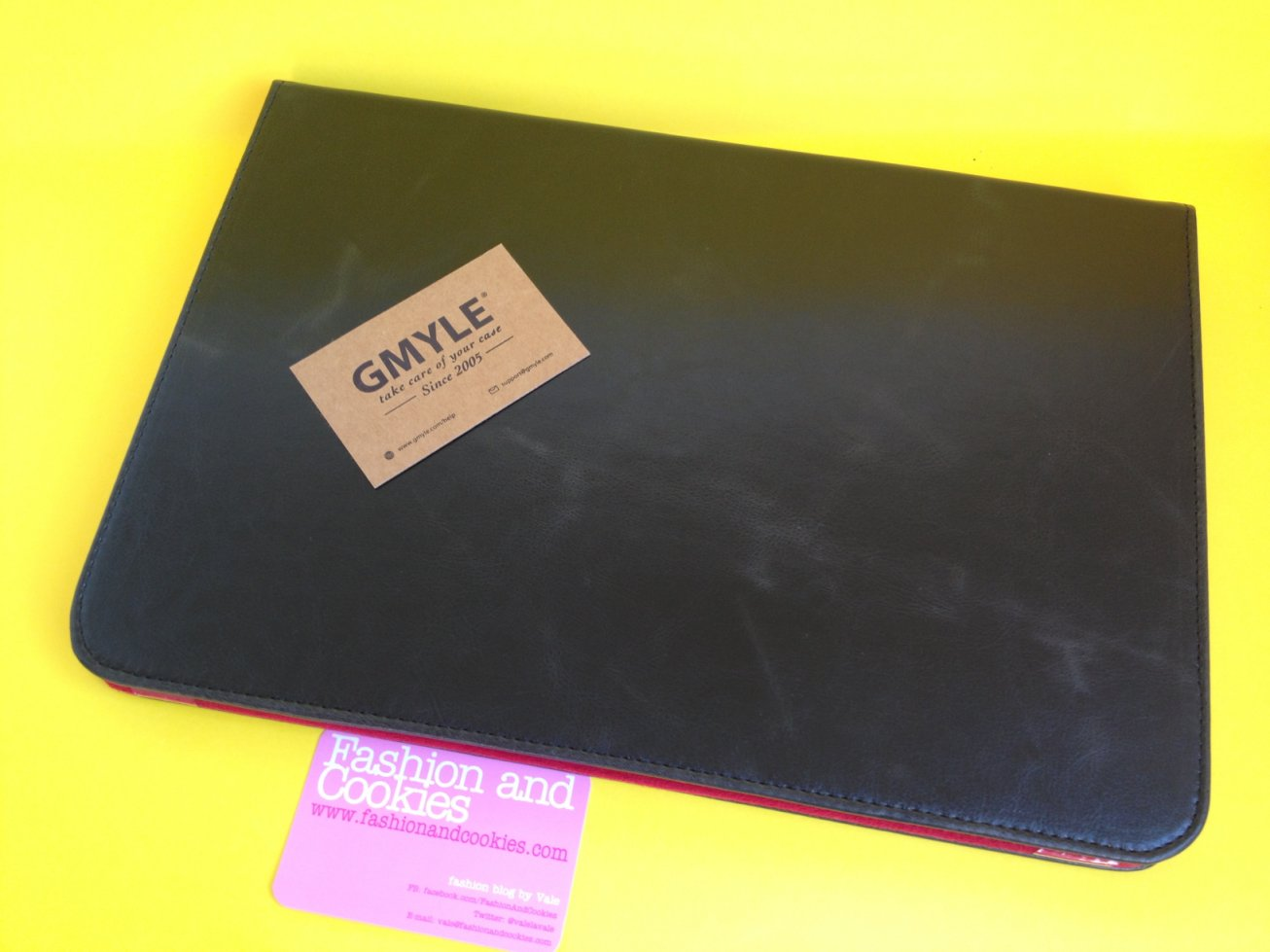 "Gmyle leather folio Apple 13"" MacBook Air case on Fashion and Cookies fashion blog"
