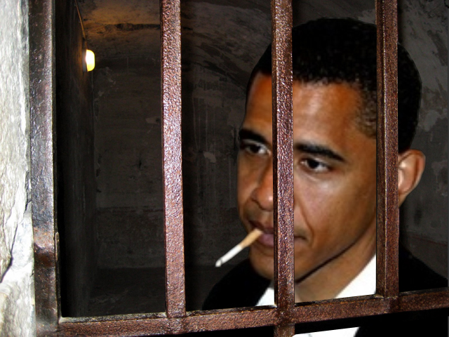 Obama in jail