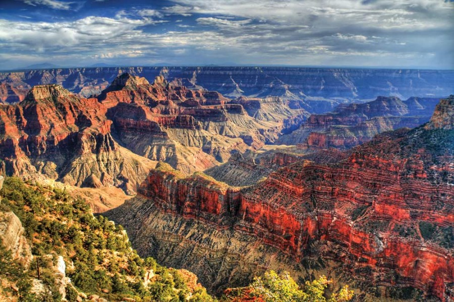 grand canyon adalah sebuah jurang tebing terjal diukir oleh sungai ...