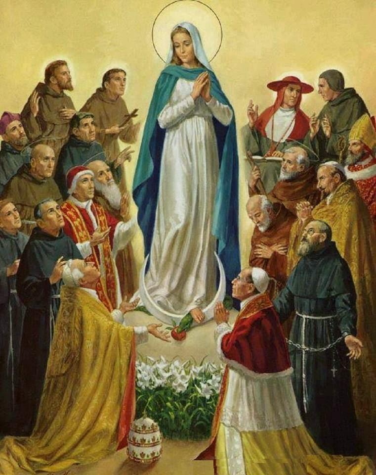 SANTA MARÍA MADRE DE LA IGLESIA. Fiesta Lunes después de Pentecostés