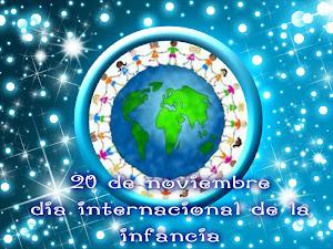 20 N: DÍA INTERNACIONAL DE LA INFANCIA