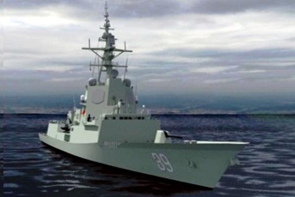 Hobart Class Destroyer