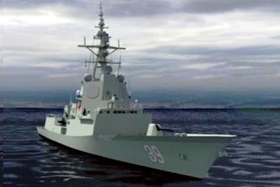 Hobart Class Destroyer. PROKIMAL ONLINE Kotabumi Lampung Utara