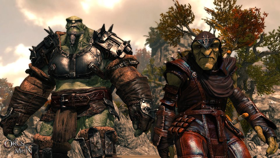 of orcs and men 2012 video game trailer impressions game trailer reviews play as an orc goblin team up