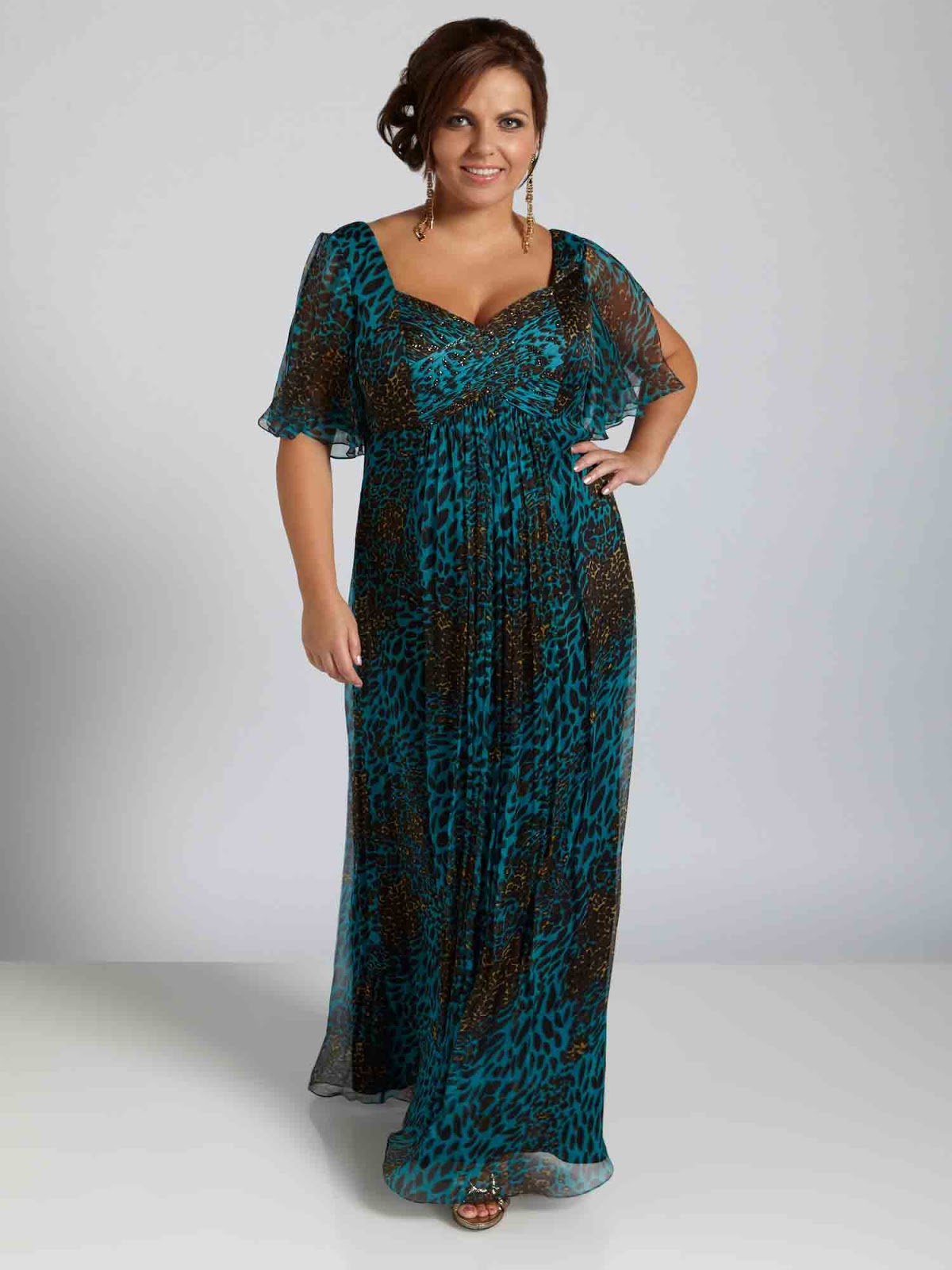 Frauen Große Größen Abendkleider
