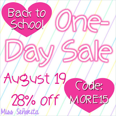 Love Back to School One-Day Tpt Sale