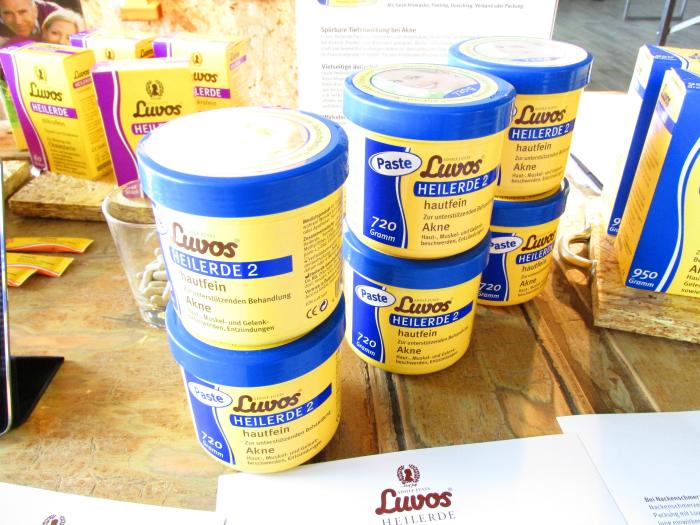 Yupik Infodays 2015 - Baden-Baden - Luvos Heilerde hautfein Paste für Akne