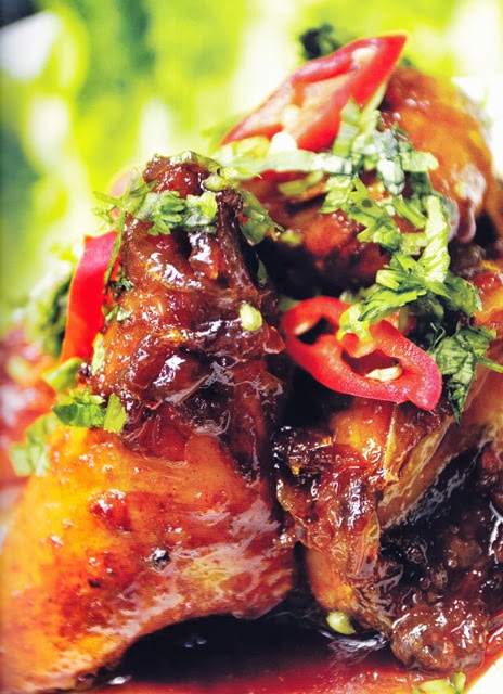 Resipi Ayam Masak Pedas Manis