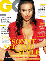 Irina Shayk graces the cover of GQ Germany July 2012 Issue