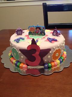 3 cake Dora birthday cake