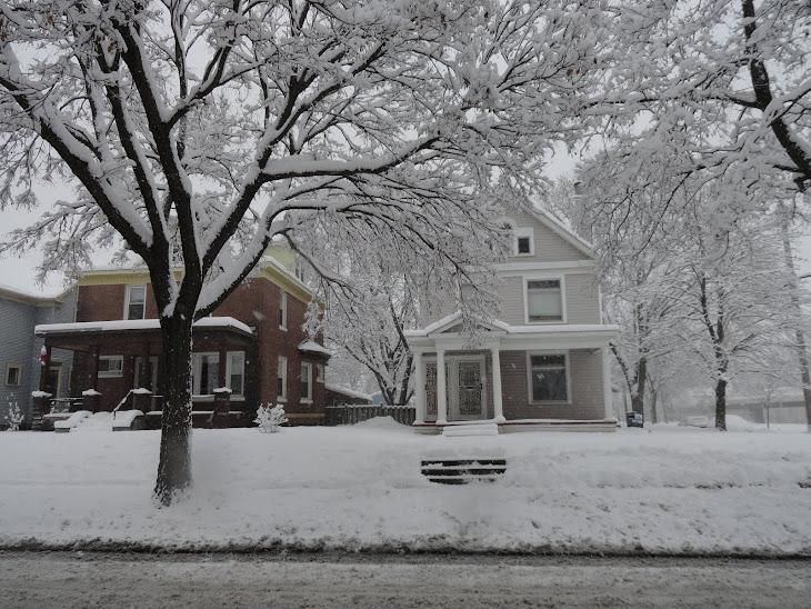 Winter in North Minneapolis - Bright Darkness!