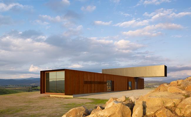 Casa con vistas sobre el valle de denton corker marshall for Blog arquitectura y diseno