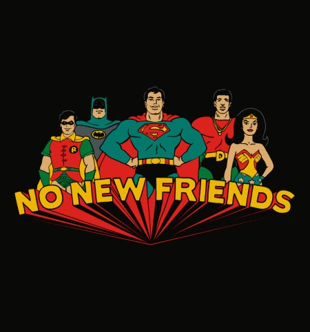 No New Friends Graphic Tee