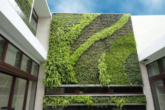 Decora interi jardins verticais externos for Pockets jardin vertical