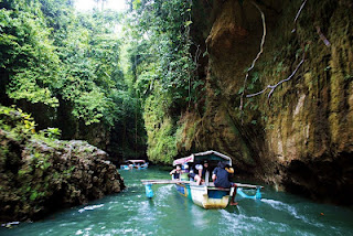 Visitindonesia; Light-Green Canyon Cukang Taneuh Inwards Due West Java, Worth To Visit