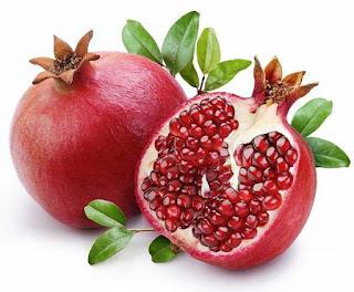 Kebaikan dan khasiat buah delima