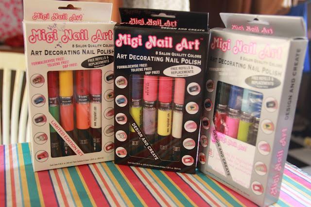 Nailsbyabby New In Migi Nail Art Pens X La Colors