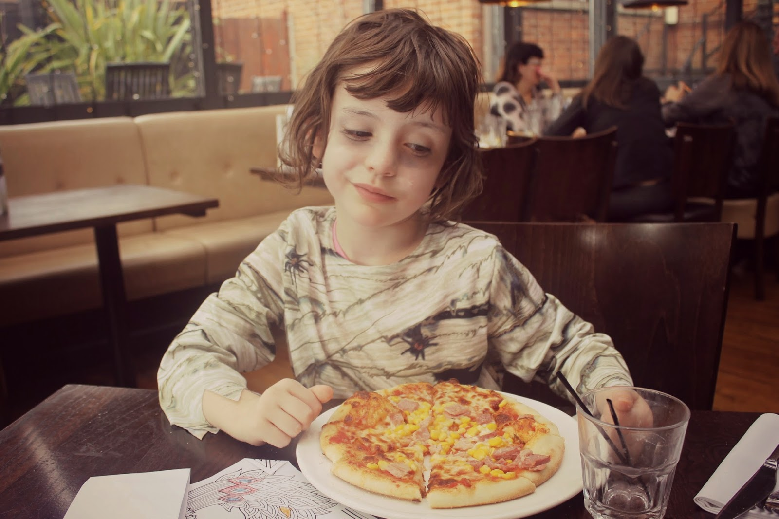 where can kids make their own pizza in yorkshire