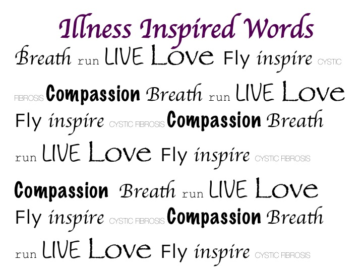 Illness Inspired Words