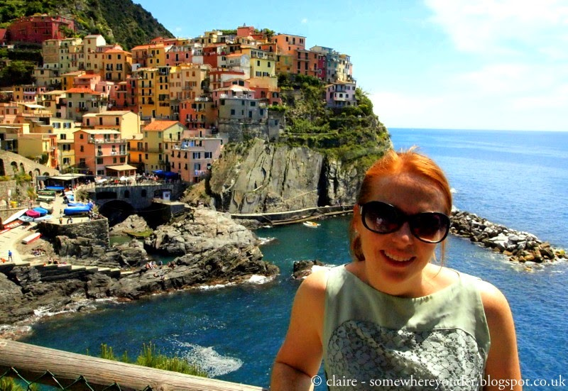Visiting the breathtakingly beautiful Cinque Terre, Italy.
