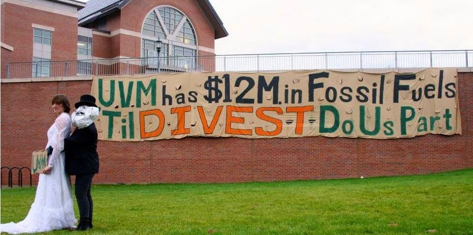 Divest UVM From Fossil Fuels