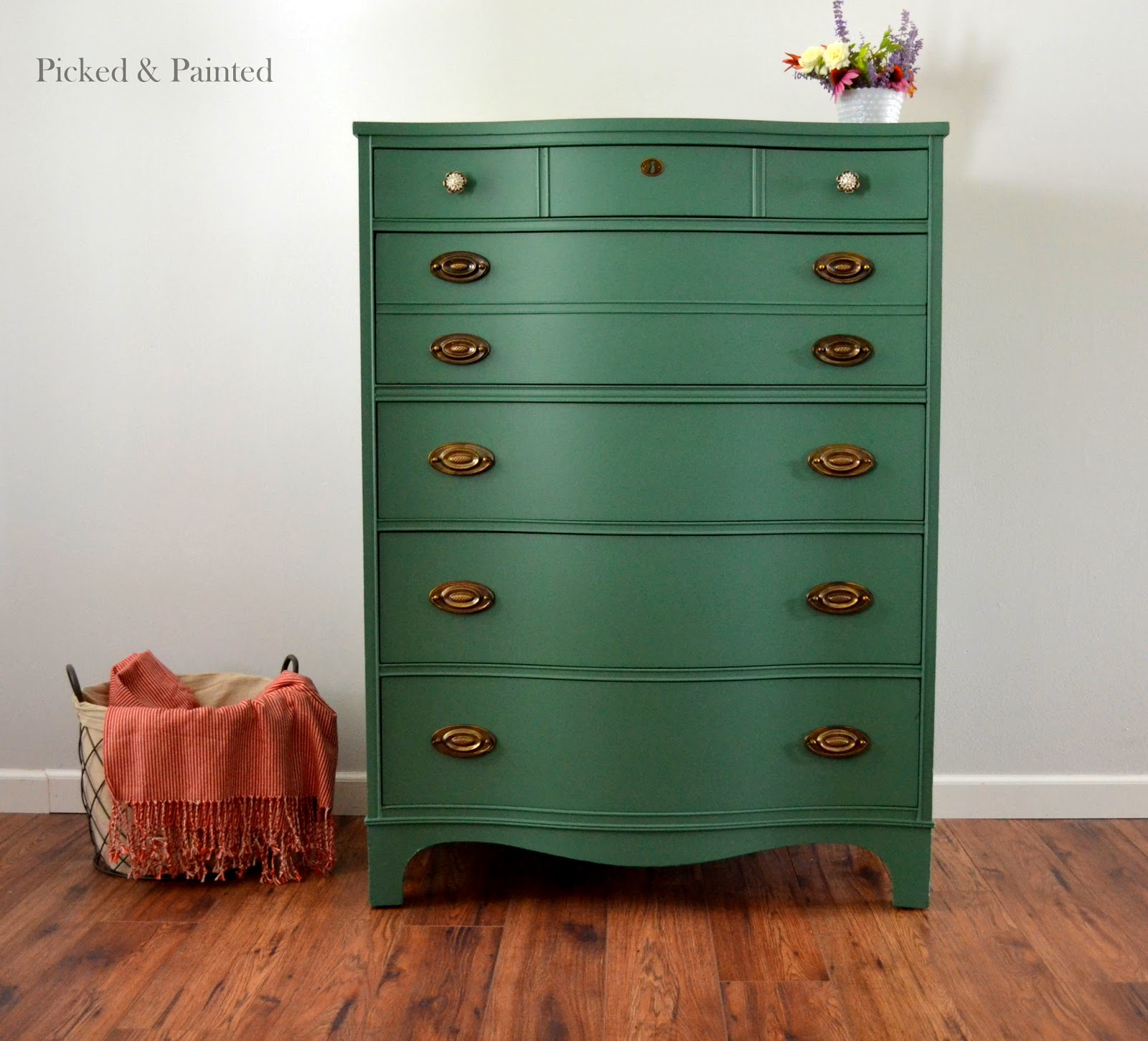 Helen nichole designs when coastal blue lime green come Best color to paint dresser