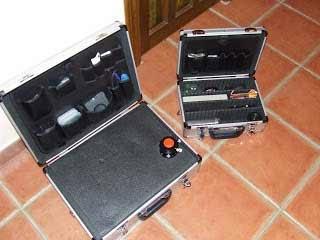2 mallettes pour les accessoires astro