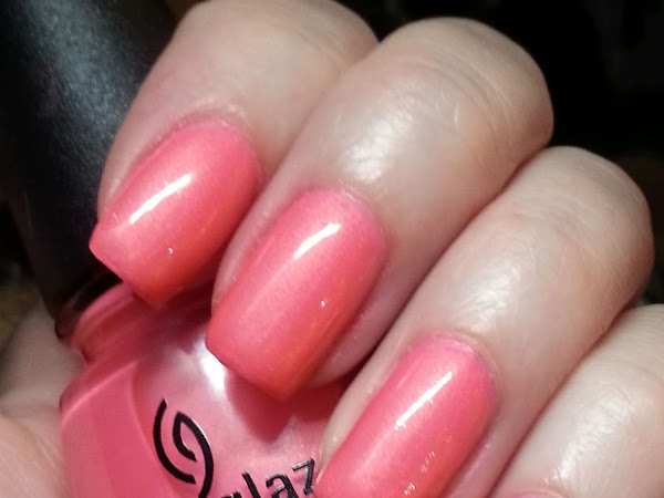 China Glaze Pink Plumeria