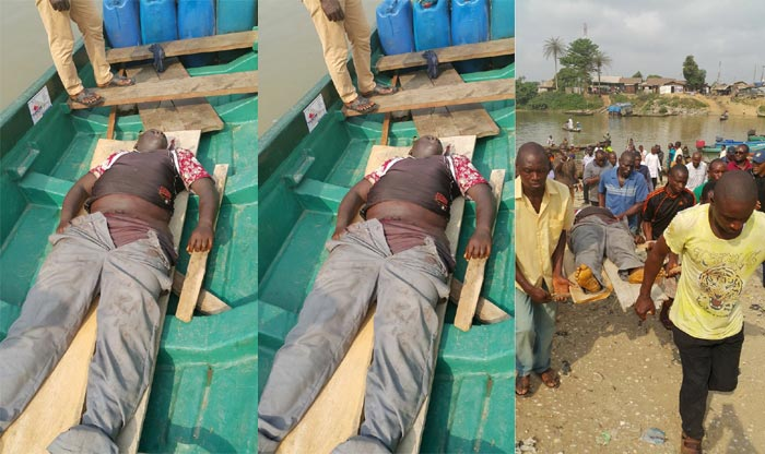 Graphic Photos Of PDP Agent Aaron Douye Audu Killed During #BayelsaDecides Yesterday